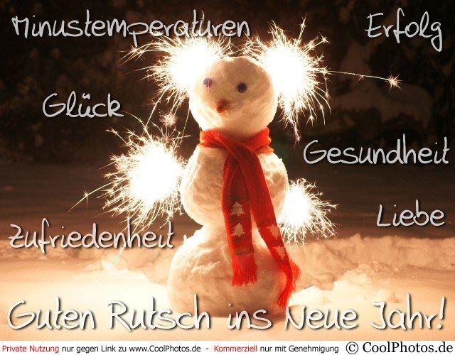 Guten Rutsch In Neue Jahr